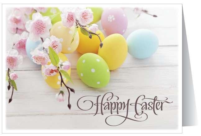 Cartolina di auguri di Pasqua fai da te