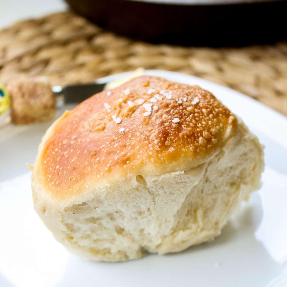 Colazione con panino dolce