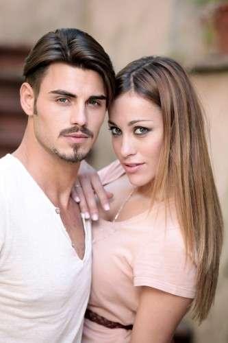 Francesco e Teresanna posano dopo la scelta a Uomini e Donne