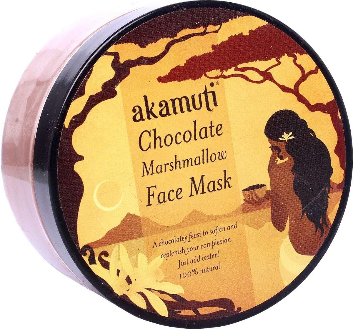 Maschera Akamuti al cioccolato per pelli normali e grasse