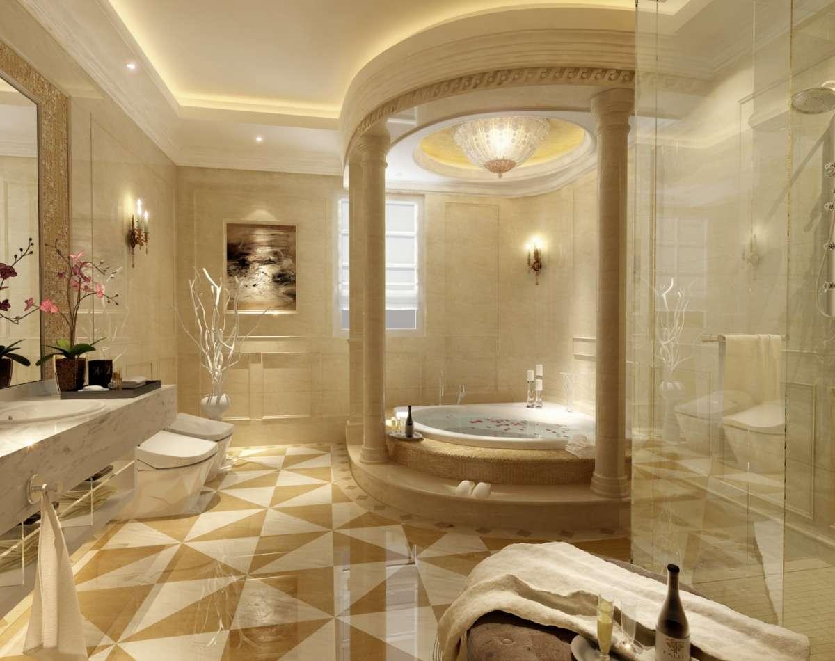 Orchidee per un bagno elegante