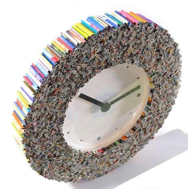 Orologio fai da te con il riciclo