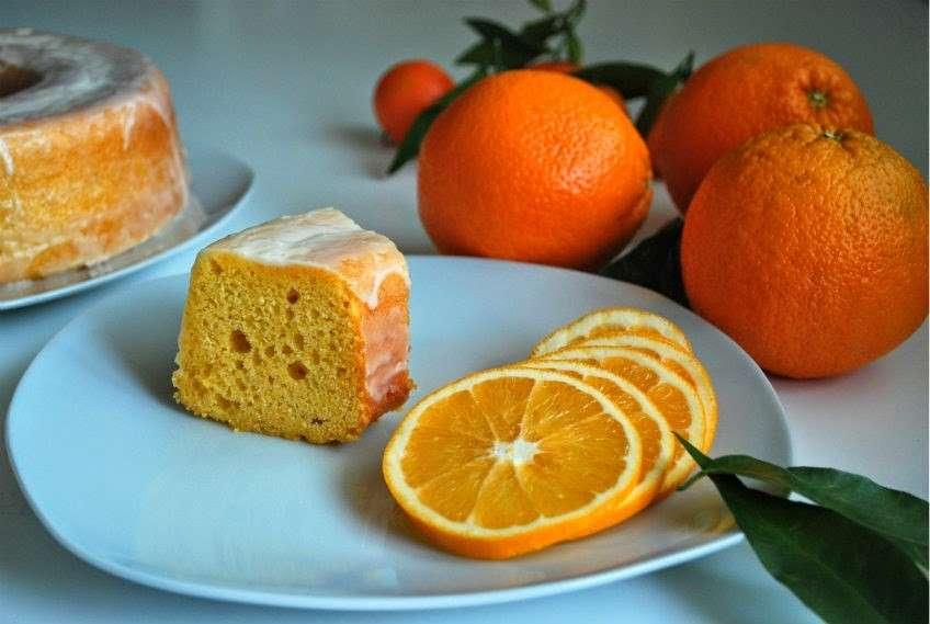 Ciambellone pan d'arancia