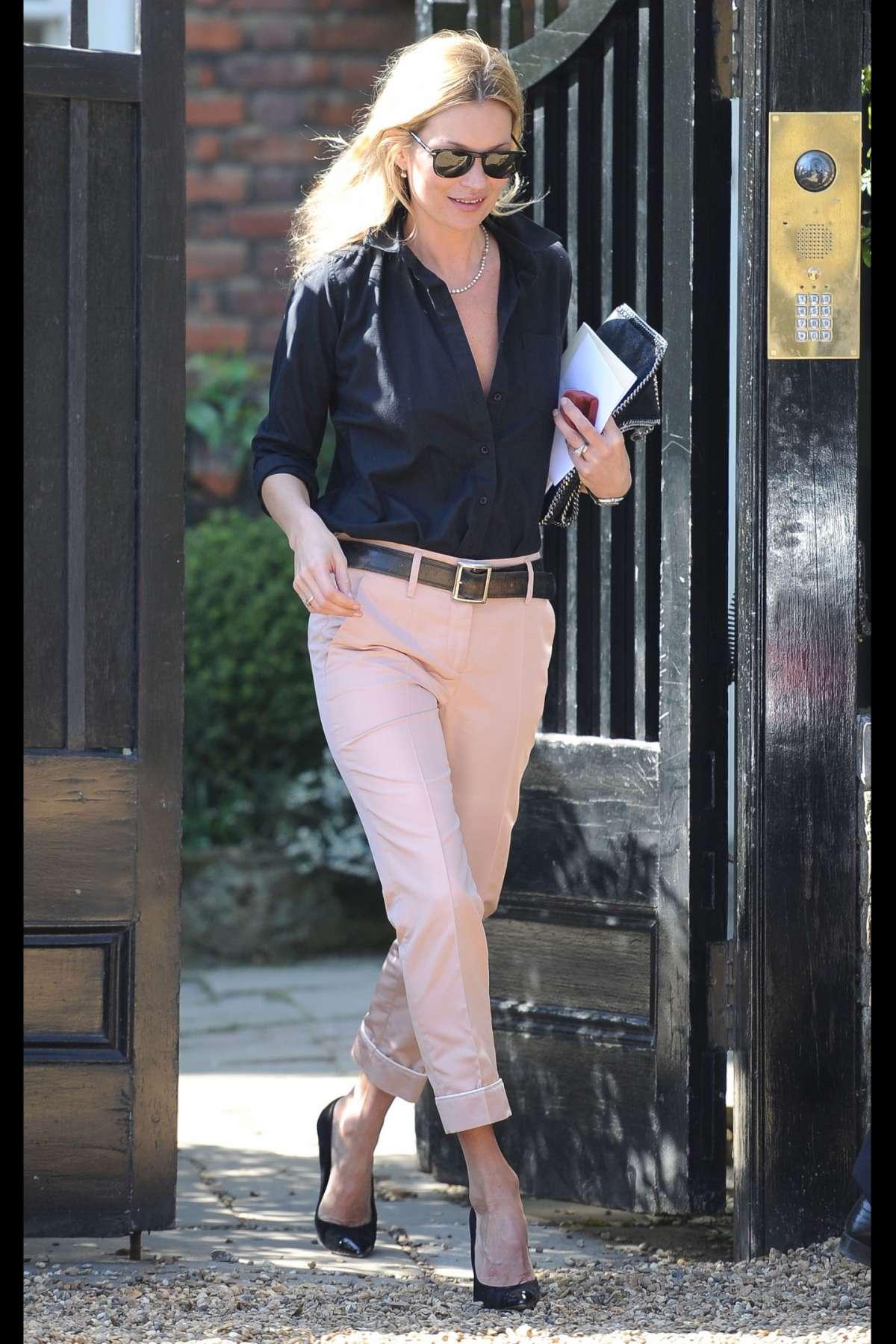 Il look da giorno di Kate Moss