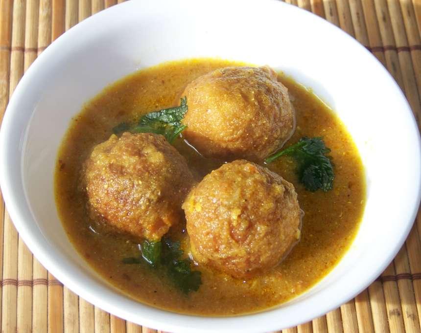 Kofta al curry