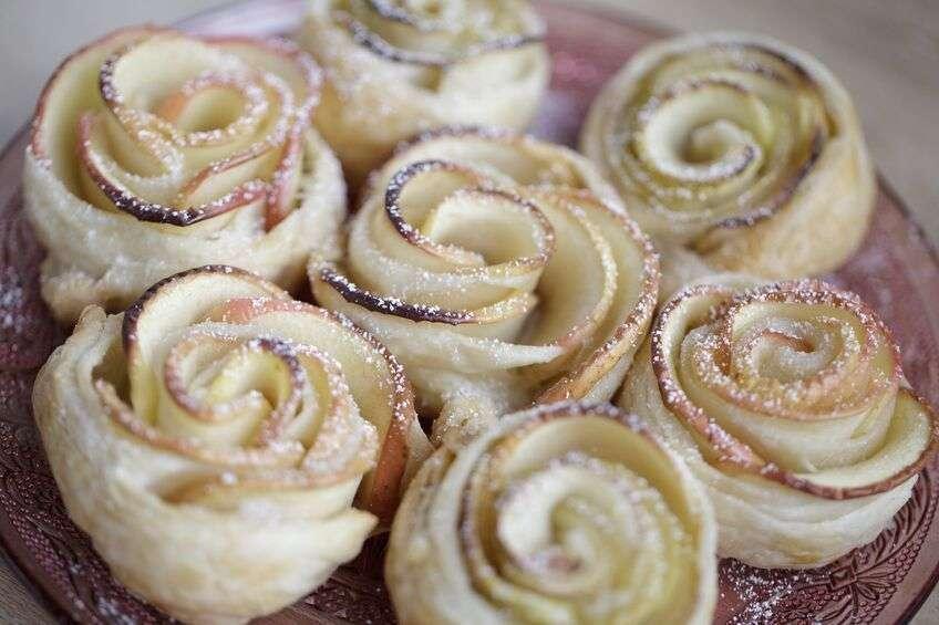 Ricetta semplice rose di mele