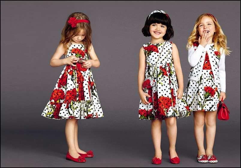 Abiti a fiori Dolce&Gabbana