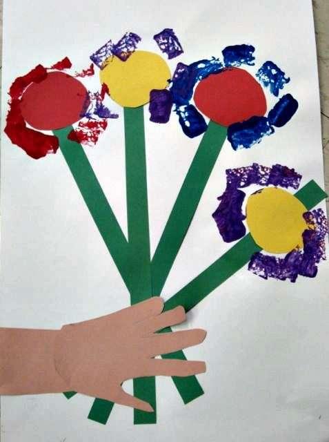 Collage di fiori