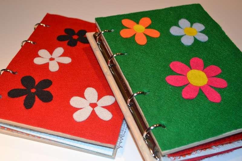 Libro con quaderno a buchi