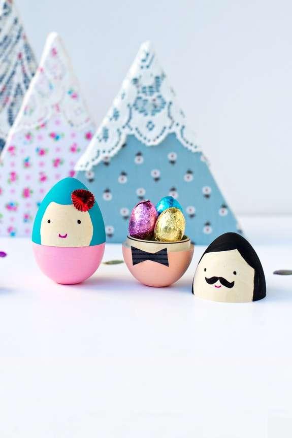 Ovetti a sopresa per le uova di Pasqua