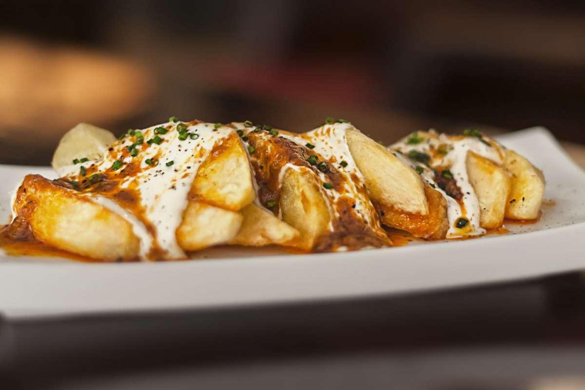 Patatas bravas tradizionali
