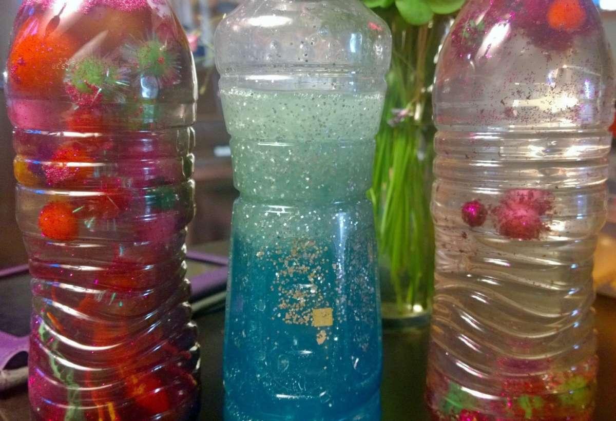 Acqua glitterata