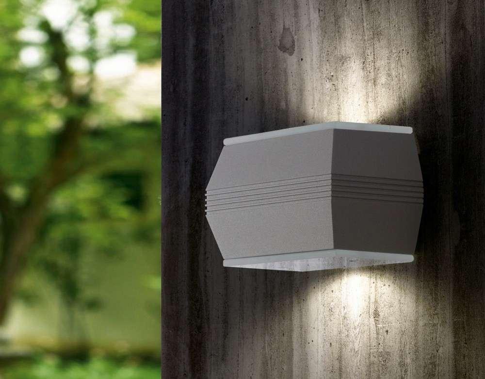 Applique a led moderno da esterno