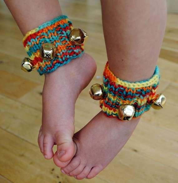 Bracciali per caviglie con campanelli