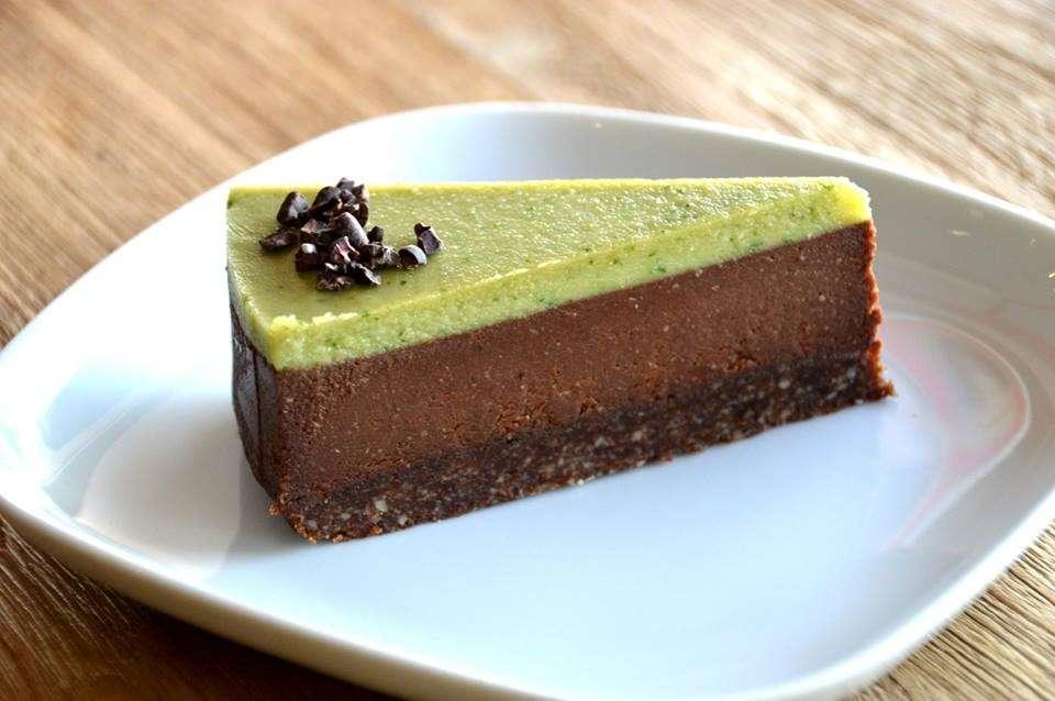 Cheesecake cioccolato e menta