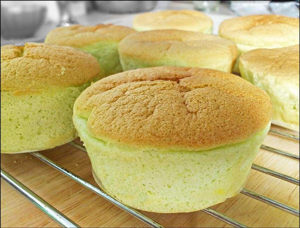 Cupcake chiffon