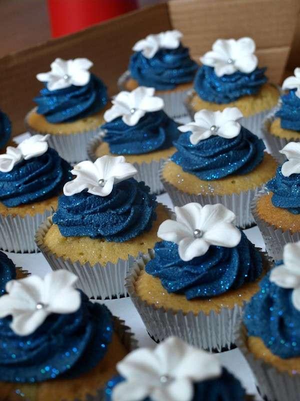 Dolcetti blu per le nozze