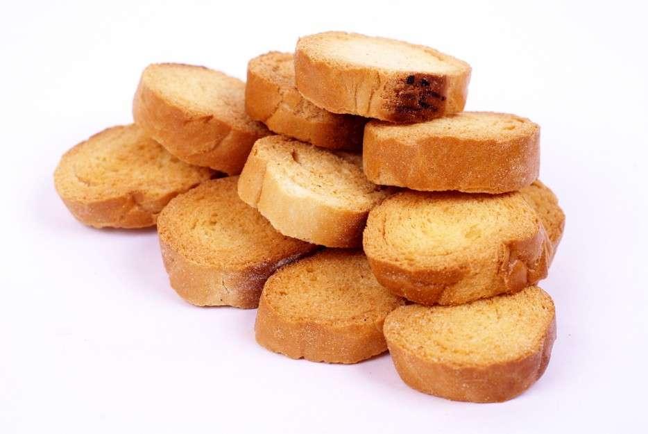 Fette biscottate rotonde