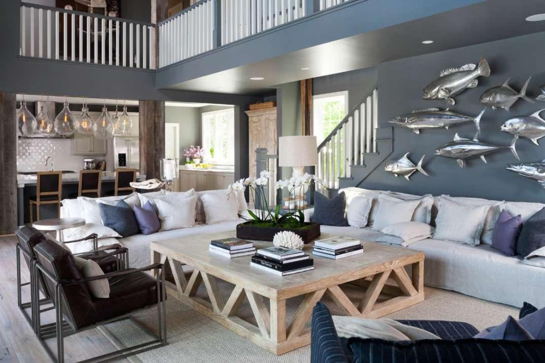 Le decorazioni della casa stile marinaro
