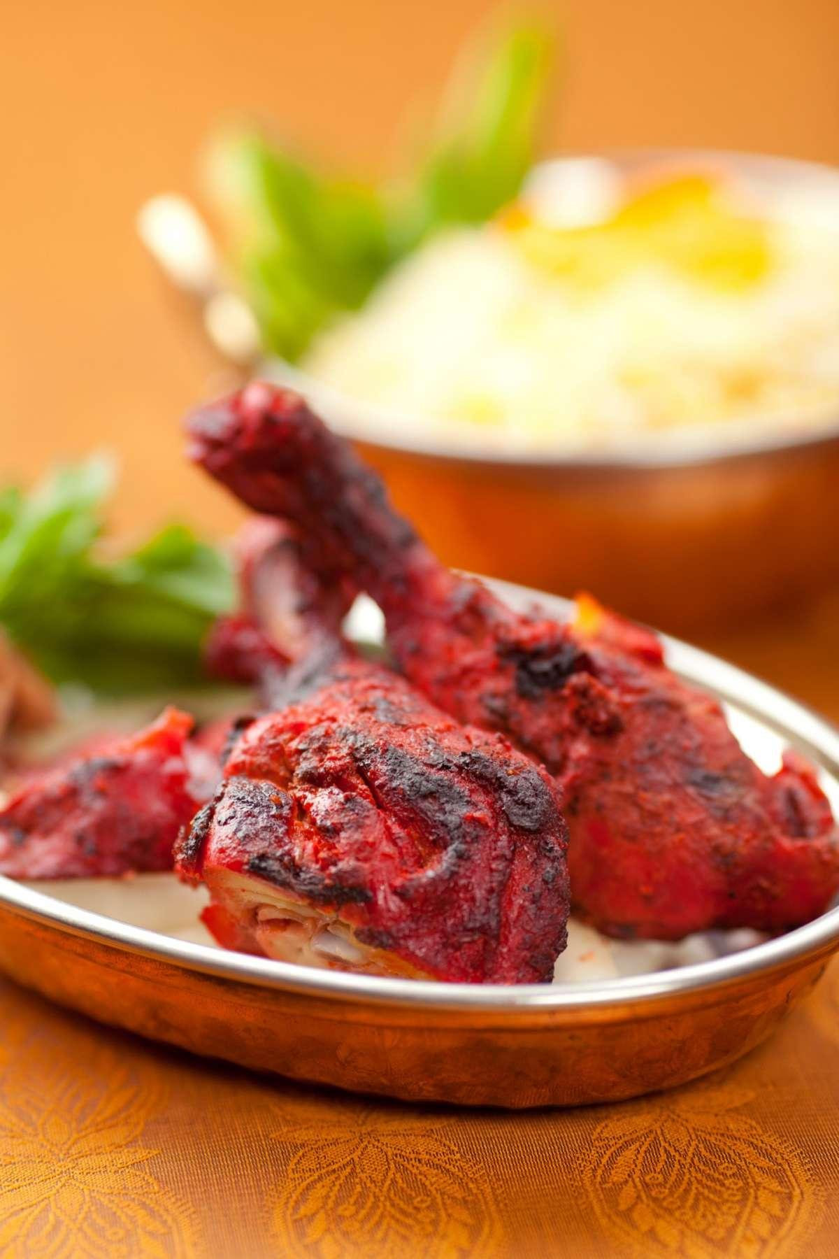 Cucina indiana a base di pollo