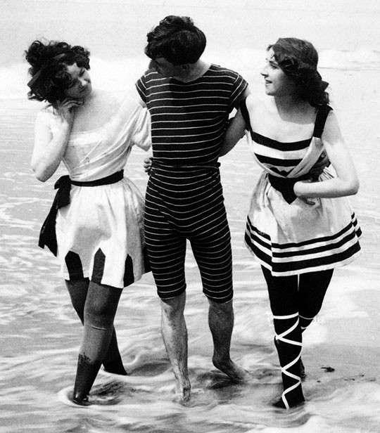 Il beachwear ai primi del '900