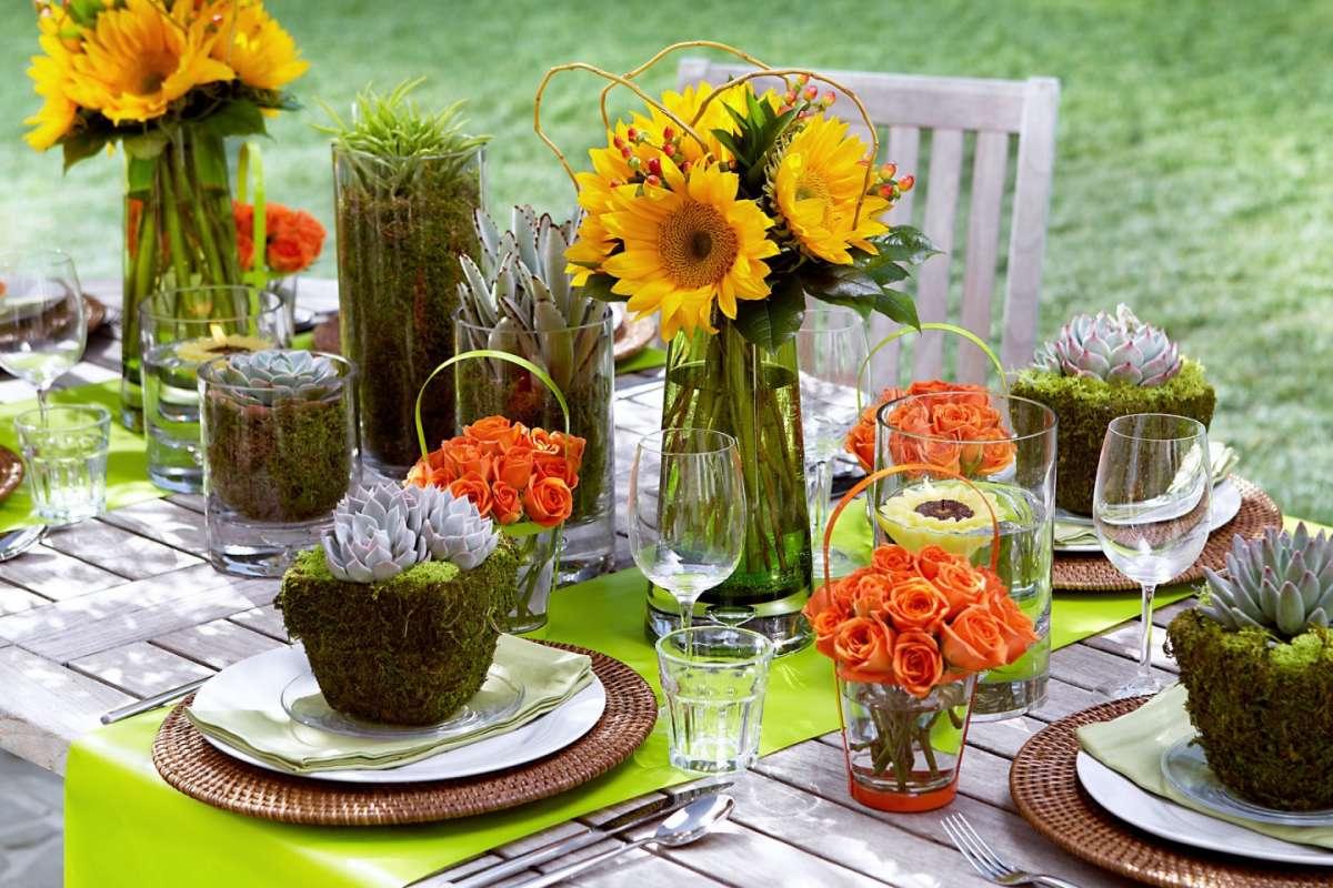 La tavola d'estate