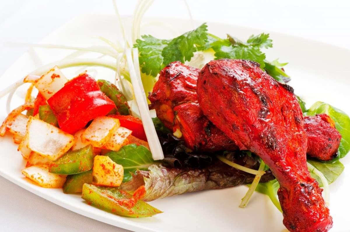 Pollo tandoori indiano