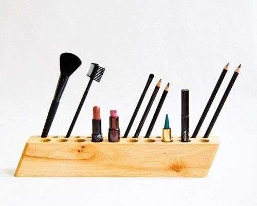 Porta make up di legno