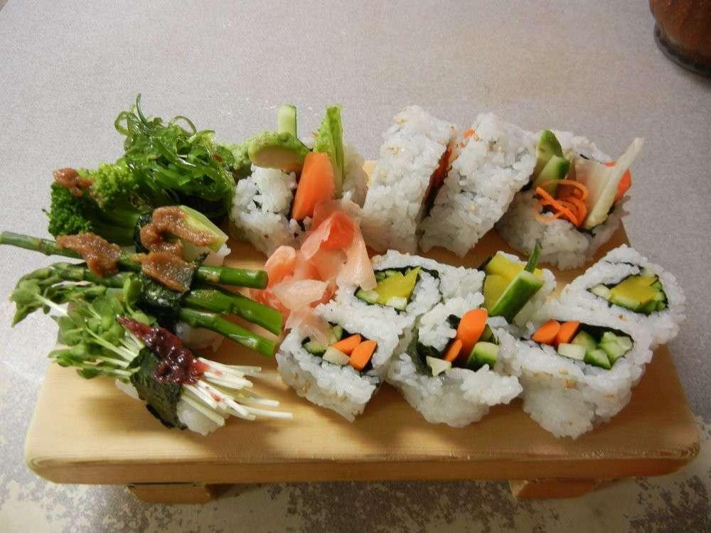 Sushi per i vegetariani