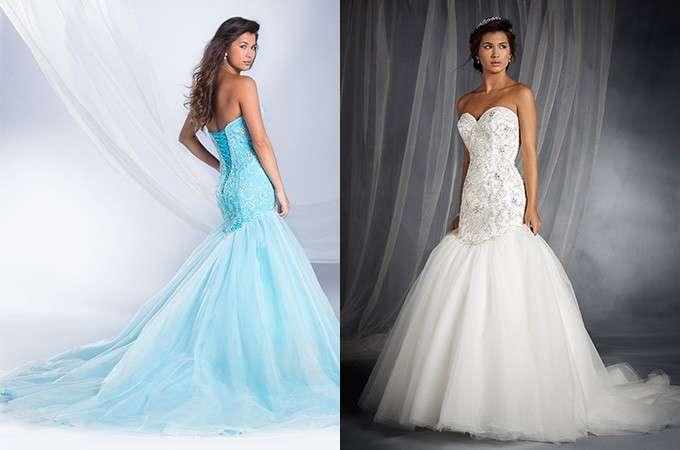 Ariel in azzurro e bianco
