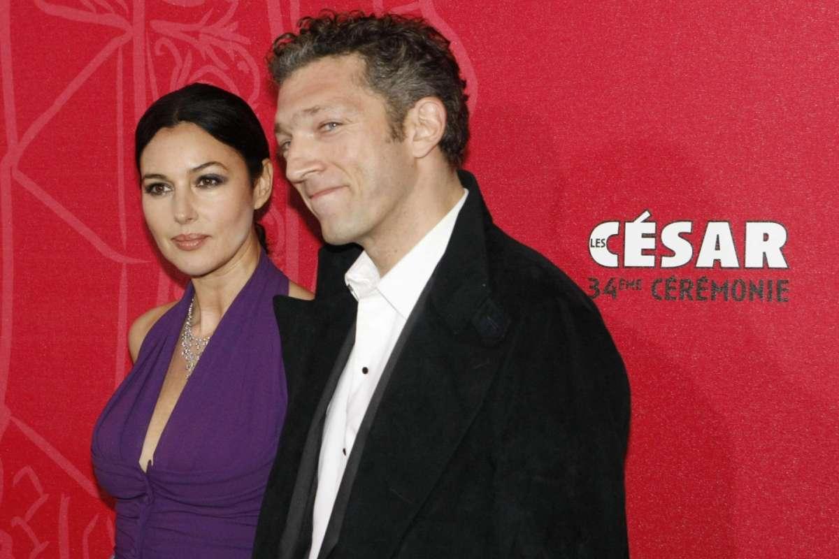 Bellucci e Cassel a Parigi