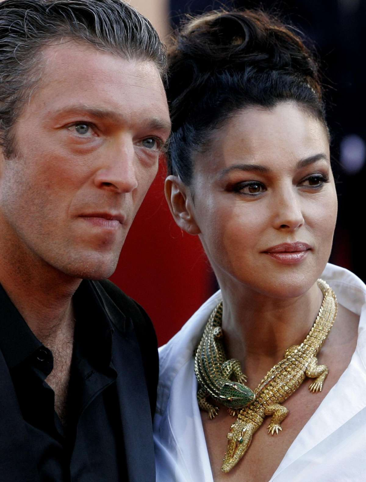 La coppia formata da Monica e Vincent
