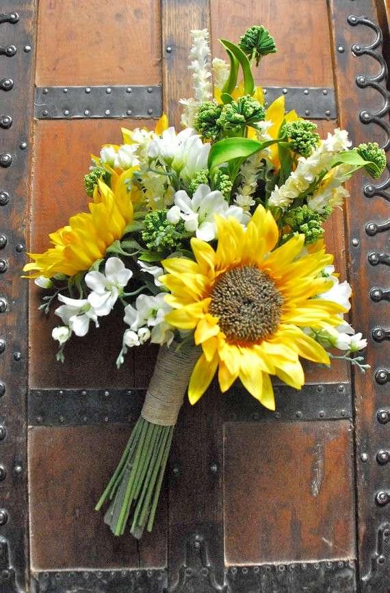 Mazzo di fiori chic semplice