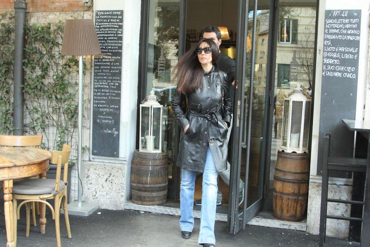 Monica Bellucci a Roma
