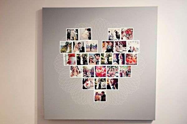 Un collage romantico