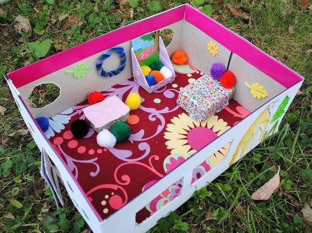 Una scatola come giocattolo