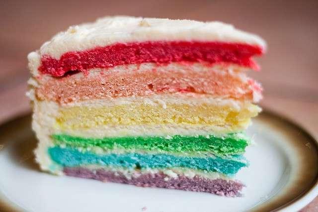 Rainbow cake ricetta