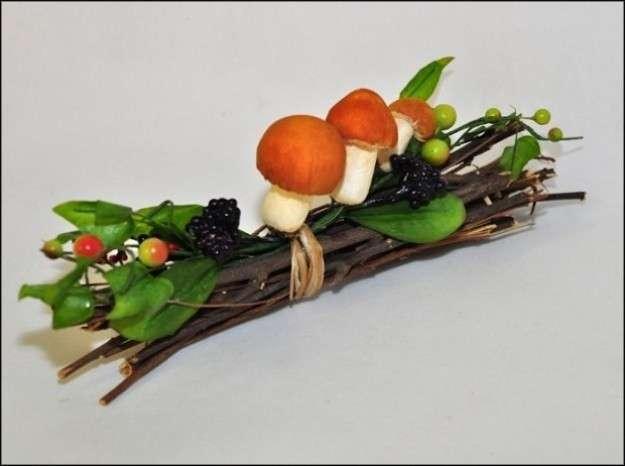 Bastoncini con funghetti
