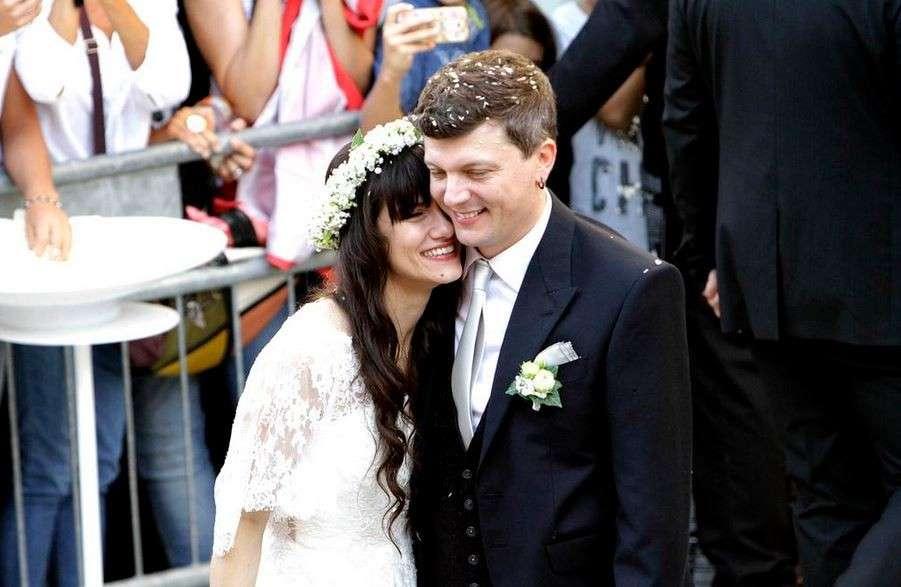 Elisa e Andrea Rigonat sposi