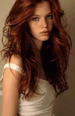 Shatush capelli: riflessi ramati