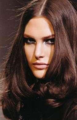 Shatush capelli:colore nero intenso