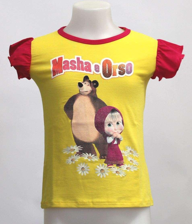 T-shirt Masha e Orso