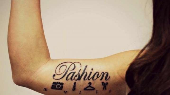 Tatuaggio a tema fashion