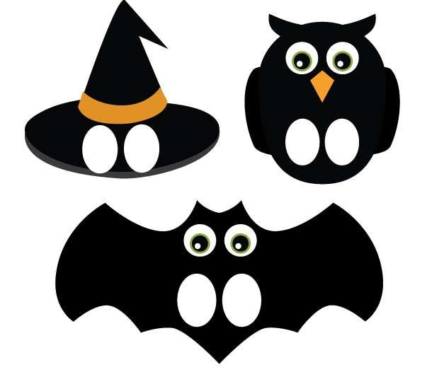 Maschere di Halloween da stampare