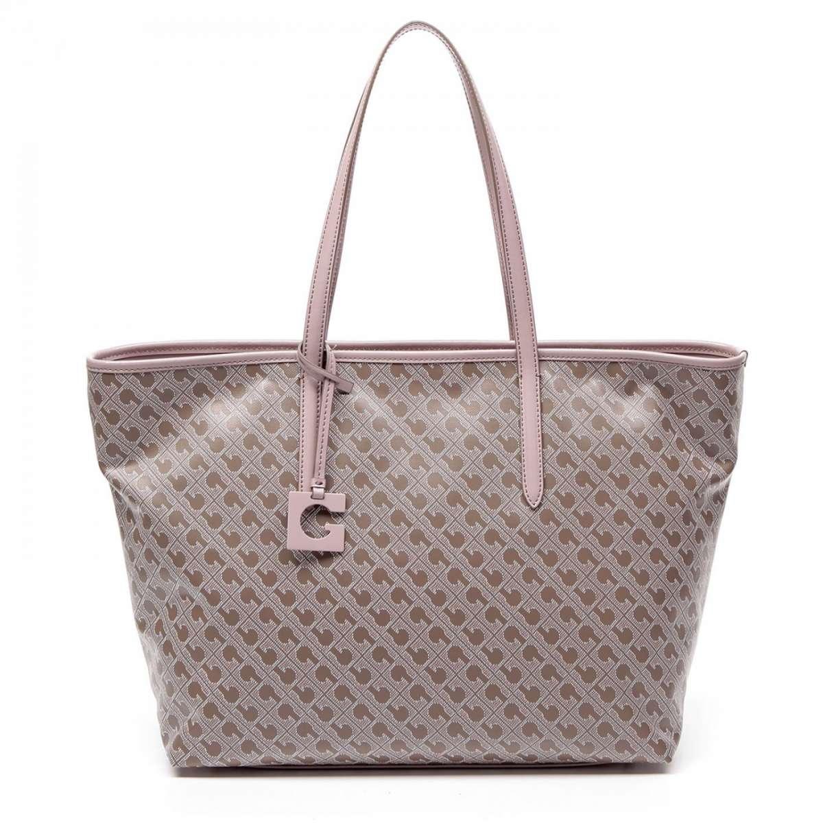 Shopper con profili rosa Gherardini