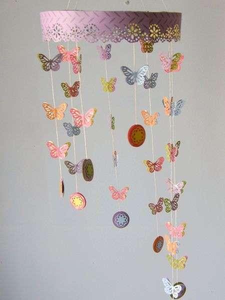 Una cascata di farfalle