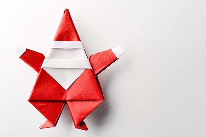 Origami natalizio