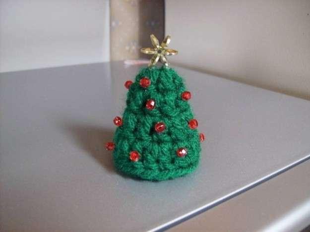 Albero di Natale con perline
