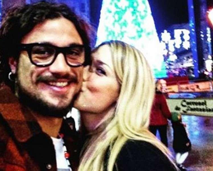Benedetta Mazza e Pablo Osvaldo