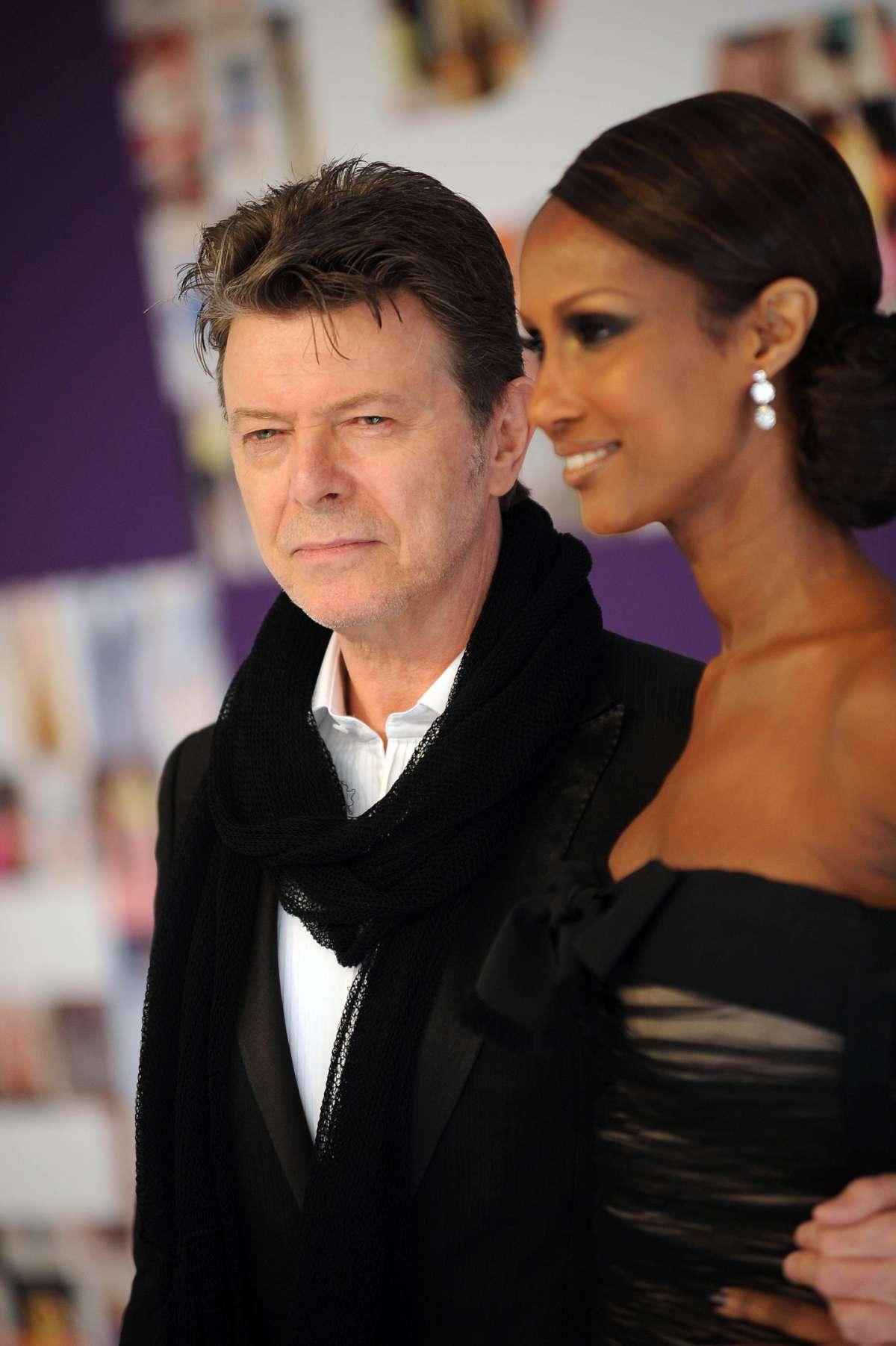 David Bowie e Iman al CFDA Fashion Awards